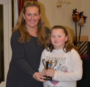 Rio McGonigle & Megan O'Sullivan Most improved rider awards 2013